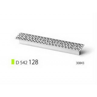 Ручка D 542 128, хром (Rolla)