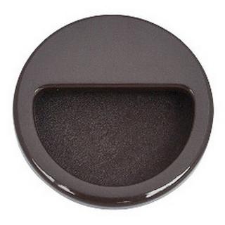 Ручка врезная пластик., темно-коричневая, MD 6120 КОЛИЧЕСТВО УТОЧНИТЬ У МЕНЕДЖЕРА