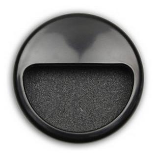 Ручка врезная пластмассовая черная MD 6130