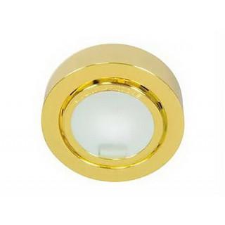 Светильник подшкафный круглый С29, золото
