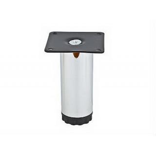 Ножка мебельная А-107 PC 100мм (NL 13/100R) хром