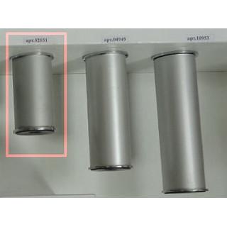 Ножка рег. металлическая NA 11C00/100/R, сатин