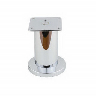 Ножка мебельная NL 12/100R регулируемая, хром