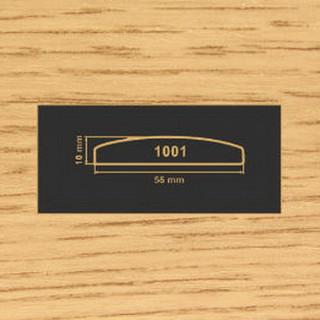 1001 дуб накладка МДФ 2800