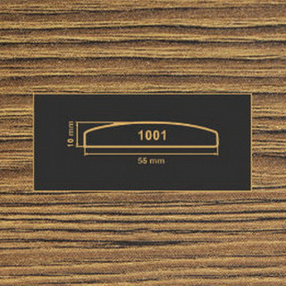 1001 дуб родос темный накладка МДФ 2800