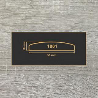 1001 дуб сонома МДФ 2800