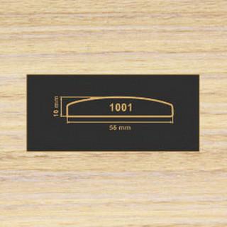 1001 зебрано песочн накладка МДФ 2800