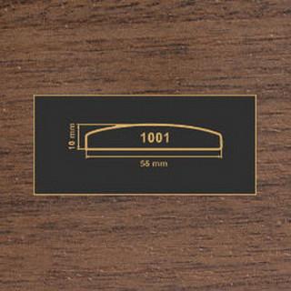 1001 орех темный накладка МДФ 2800