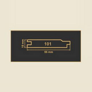 101 кремовая накладка МДФ 2620
