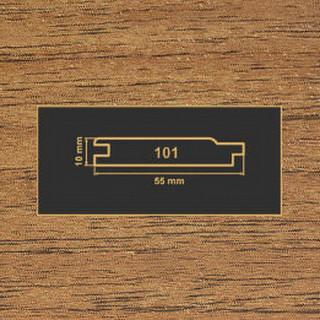 101 орех лесной накладка МДФ 2620