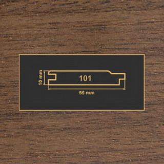 101 орех темный накладка МДФ 2620