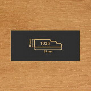 1035 ольха рамочный профиль МДФ 2800