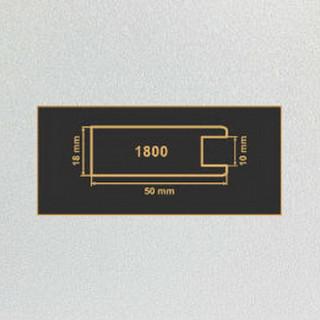 1800 алюминий рамочный профиль МДФ 2800