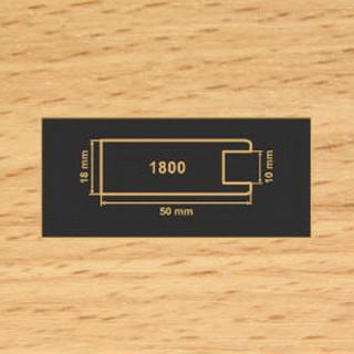 1800 бук рамочный профиль МДФ 2800