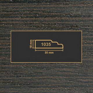 1800 венге рамочный профиль МДФ 2800