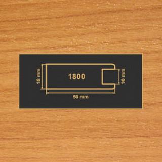 1800 вишня рамочный профиль МДФ 2800