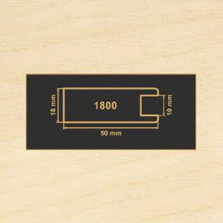 1800 клен рамочный профиль МДФ 2800