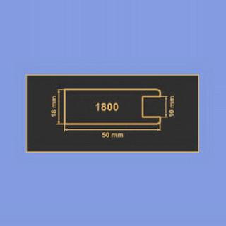 1800 синий рамочный профиль МДФ 2800