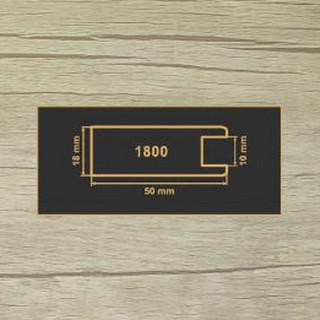 1800 Старое дерево рамочный профиль МДФ 2800