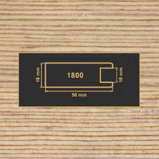 1800 фино-бронза рамочный профиль МДФ 2800