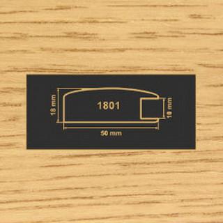 1801 дуб рамочный профиль МДФ 2800