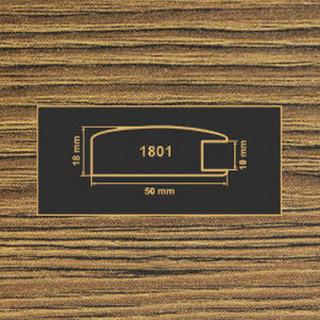 1801 дуб родос темный рамочный профиль МДФ 2800