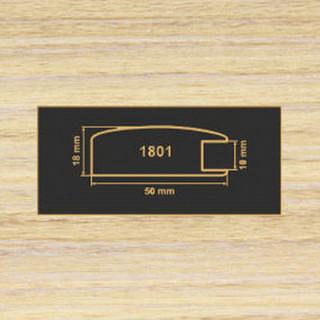 1801 зебрано песочный рамочный профиль МДФ 2800
