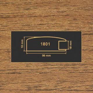 1801 орех лесной рамочный профиль МДФ 2800