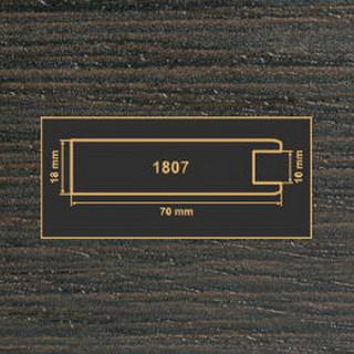 1807 венге рамочный профиль МДФ 2800