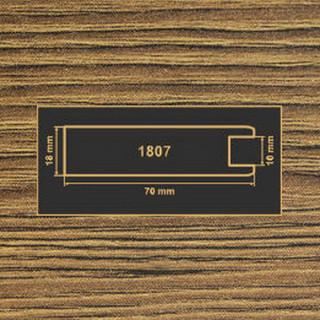 1807 дуб родос темный рамочный профиль МДФ 2800