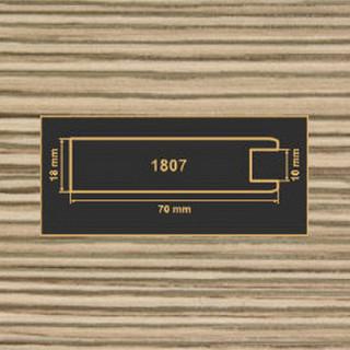 1807 лиственница рамочный профиль МДФ 2800
