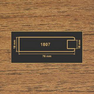 1807 орех лесной рамочный профиль МДФ 2800