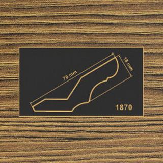 1870 дуб родос темный  рамочный профиль МДФ 2800