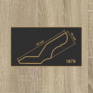 1870 дуб сонома карниз МДФ 2800