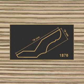 1870 лиственница карниз МДФ 2800