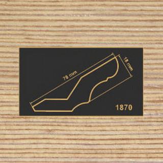 1870 фино-бронза карниз МДФ 2800
