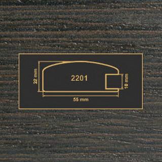 2201 венге рамочный профиль МДФ 2800