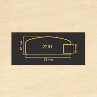 2201 клен танзау рамочный профиль МДФ 2800