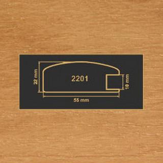 2201 ольха рамочный профиль МДФ 2800