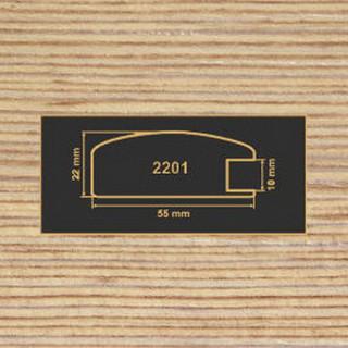 2201 фино-бронза рамочный профиль МДФ 2800