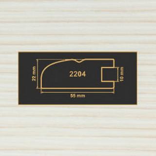 2204 вудлайн крем рамочный профиль МДФ 2800