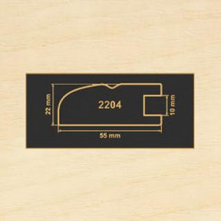 2204 клен танзау рамочный профиль МДФ 2800