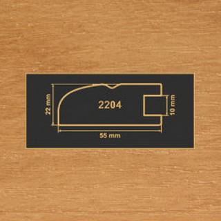 2204 ольха рамочный профиль МДФ 2800