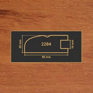 2204 яблоня рамочный профиль МДФ 2800