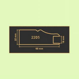 2205 зеленая вода рамочный профиль МДФ 2800