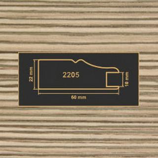 2205 лиственница рамочный профиль МДФ 2800