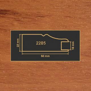 2205 яблоня рамочный профиль МДФ 2800