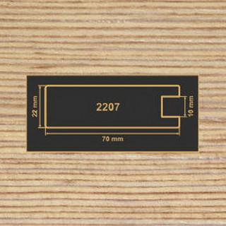2207 фино-бронза рамочный профиль МДФ 2800