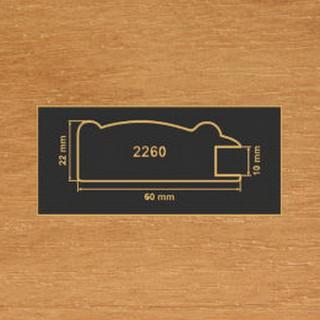 2260 ольха рамочный профиль МДФ 2800