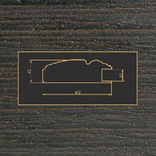 2265 венге рамочный профиль МДФ 2800